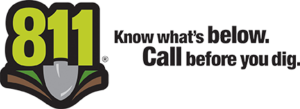 811-know before you dig logo
