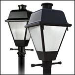 Post Top Decorative Lighting