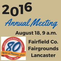 Annual Meeting is August 18
