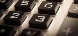 Picture of calculator