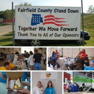 Fairfield County Stand Down pictorial collage