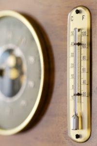 Picture of thermometer