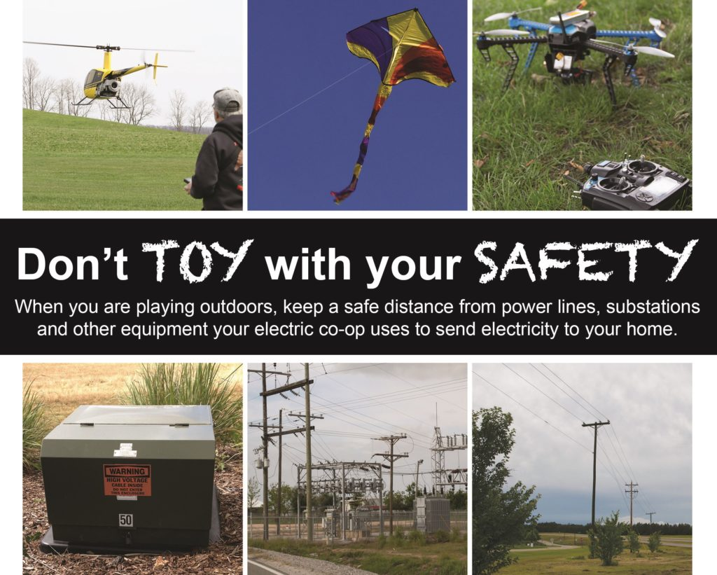 Don't toy with your safety