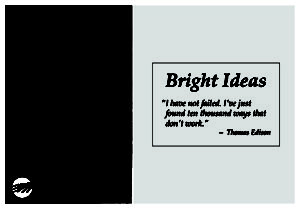When a light bulb goes off -- by Graham Moore