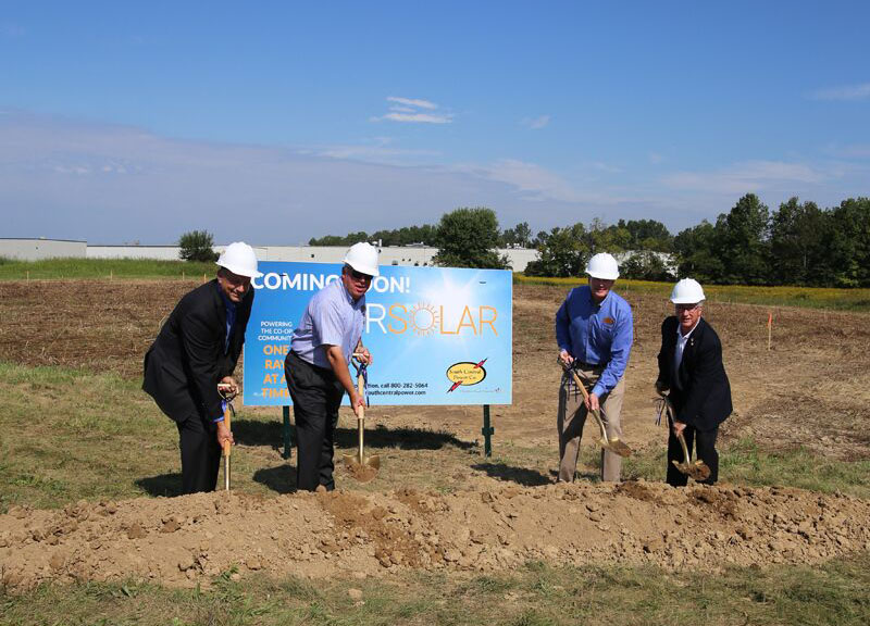 OurSolar groundbreaking ceremony