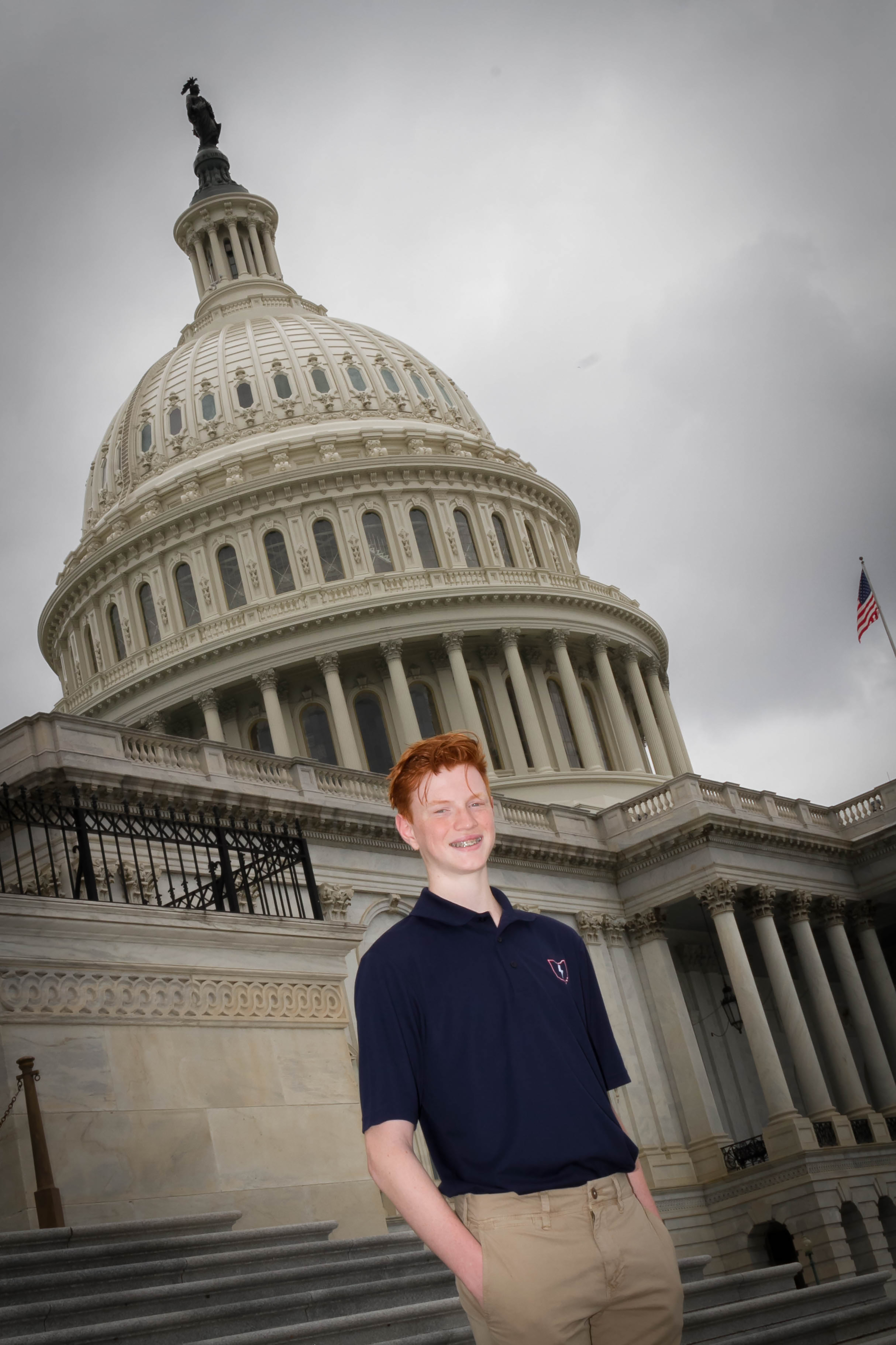 Ty List from Baltimore was the 2018 Youth Tour delegate from South Central Power. He attended Watkins Memorial High School.
