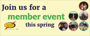 Join us for member events this spring