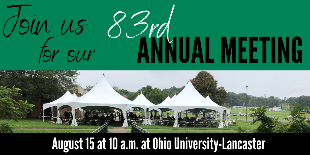 Join us for our 83rd Annual Meeting