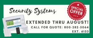 Security Systems Special Offer