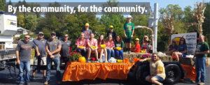 Barnesville Pumpkin Festival Parade Float