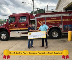 Foundation Grant Recipient Clarington Fire Dept