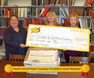 Foundation Grant Recipient Monroe Co Library