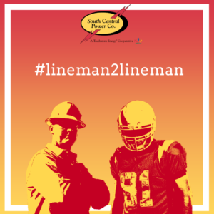 #lineman2lineman graphic
