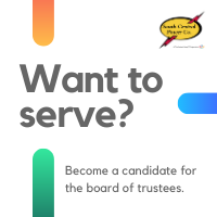 Want to serve? Become a candidate for the board of trustees
