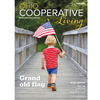 Cover image of Ohio Cooperative Living, July 2021
